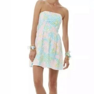 Lilly Pulitzer Strapless Lace Lottie Dress